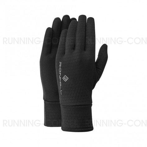 RONHILL Gants Run Matrix   All Black