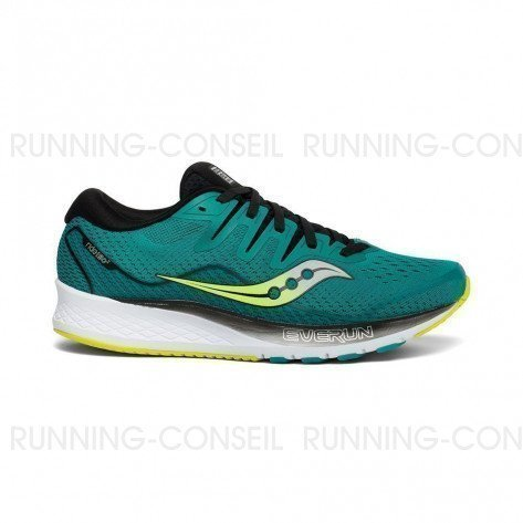 SAUCONY RIDE ISO 2 Homme | Teal / Black