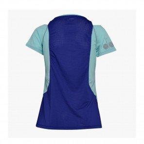 DIADORA Tee-shirt manches courtes L. BRIGHT SUN LOCK Femme   AQUA SPLASH