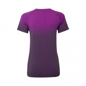 RONHILL Tee-shirt manches courtes Infinity Marathon Femme   Thistle Grey marl