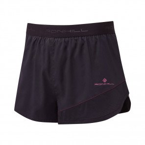 RONHILL SHORT RACER REVIVE STRIDE Homme | BLACK/MULBERRY